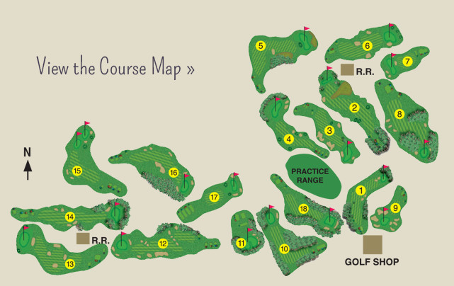Wildflower Course Map